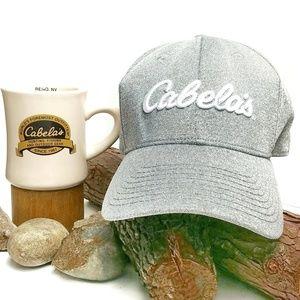 *Free* Cabela's Grey Stretch Fit Script Cap
